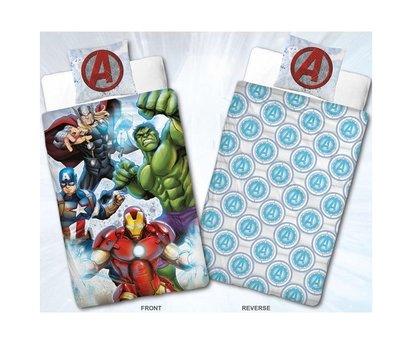 The Avengers dekbedovertrek Team 140x200cm flanel