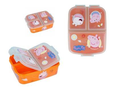 Peppa Pig broodtrommel - lunchbox 3 vaks