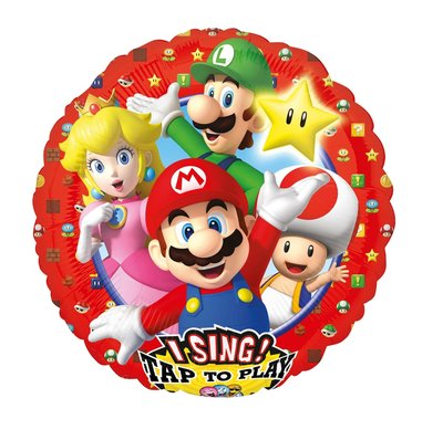 Super Mario folie ballon met Muziek