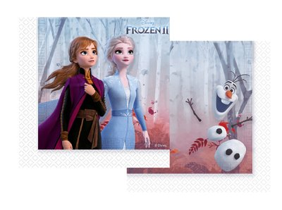 Disney Frozen 2 servetten klein