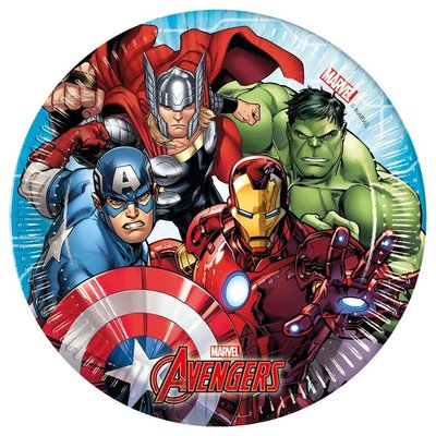 The Avengers gebaksbordjes