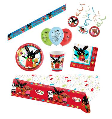 Bing het konijn feestpakket Deluxe - voordeelpakket 8 personen