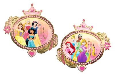 Disney Princess folie ballon Ovaal