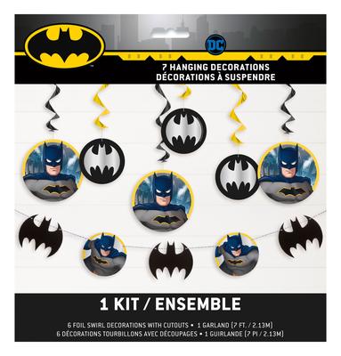 Batman plafond decoratie 7-delig kit
