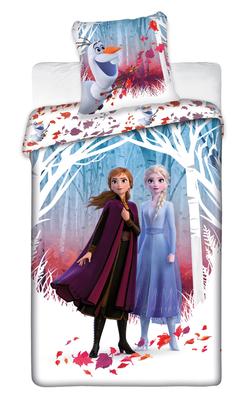 Disney Frozen 2 dekbedovertrek Silhouette 140x200cm
