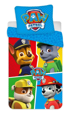 Paw Patrol peuter dekbedovertrek 100x135cm Color