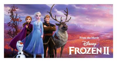 Disney Frozen 2 badlaken - strandlaken