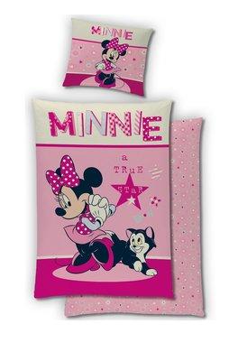 Minnie Mouse dekbedovertrek 140x200cm Flanel
