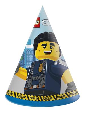 Lego City feesthoedjes