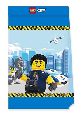Lego City uitdeelzakjes van papier