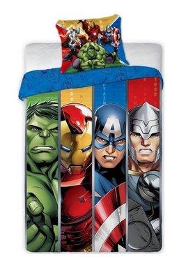 The Avengers dekbedovertrek Stripe