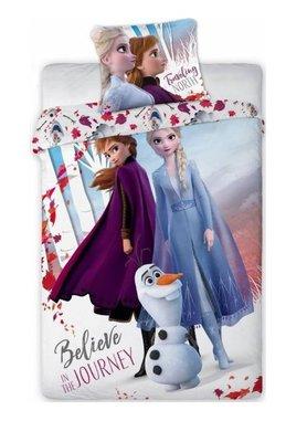 Disney Frozen 2 dekbedovertrek 140x200cm Believe Journey