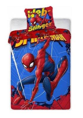 Spiderman dekbedovertrek webslinger 140x200cm