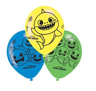 Baby Shark ballonnen 27cm groot