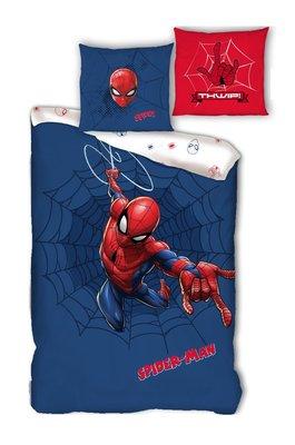 Spiderman dekbedovertrek Web 100% katoen