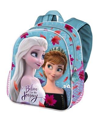 Disney Frozen 2 schooltas 3D Believe in the Journey