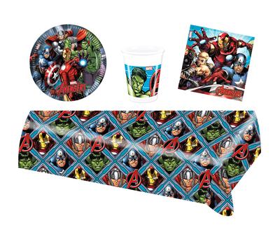 Avengers feestpakket - voordeelpakket 8 personen