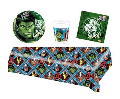 De Hulk feestpakket - voordeelpakket 8 personen