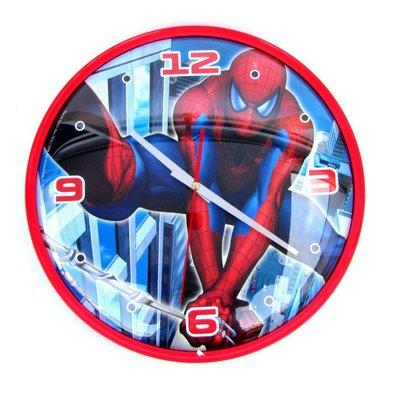 Spiderman wandklok 32cm