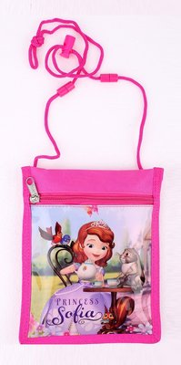 Sofia het prinsesje hals portemonnee