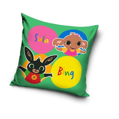 Bing het konijn sierkussen Sula & Bing Spots