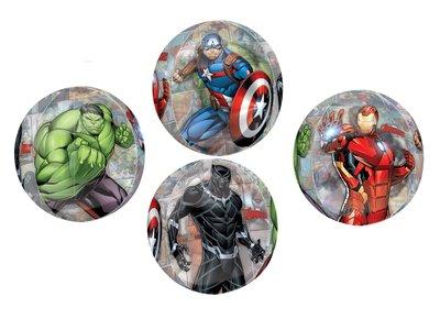 The Avengers folie ballon Endgame rond