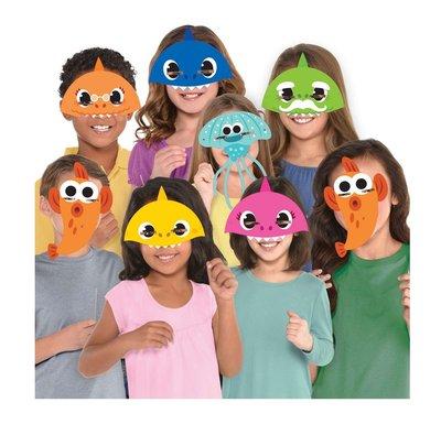 Baby Shark feest maskers