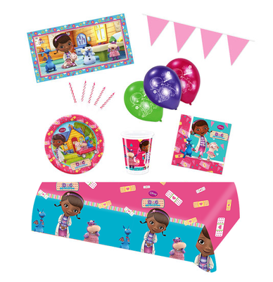 De Speelgoed Dokter feestpakket Deluxe - pakket voor 8 personen