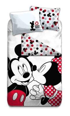 Minnie Mouse dekbedovertrek 140x200cm Kiss