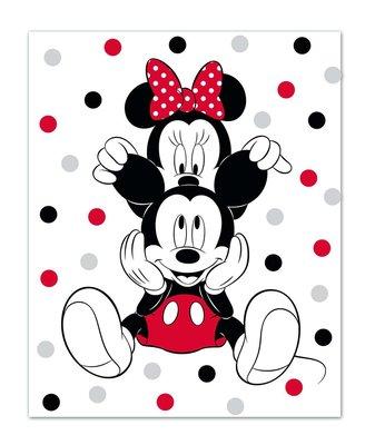 Minnie Mouse fleece deken Ears