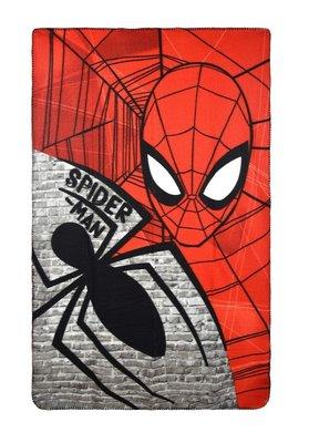 Spiderman fleece deken