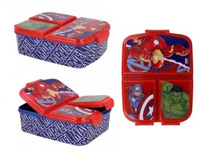 The Avengers broodtrommel - lunchbox 3 vaks