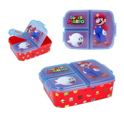 Super Mario broodtrommel - lunchbox 3 vaks