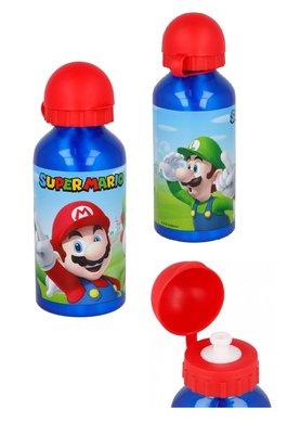 Super Mario bidon drinkfles aluminium