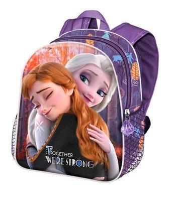 Disney Frozen 2 schooltas 3D Together we're Strong