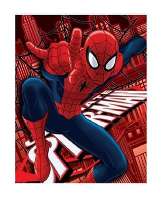 Spiderman fleece deken - plaid