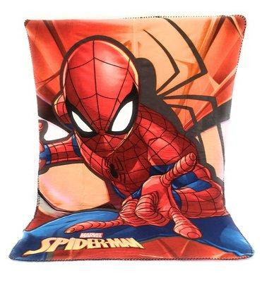 Spiderman fleece deken - webslinger