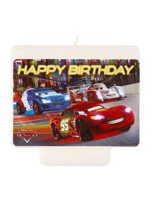 Disney Cars verjaardag taart kaars