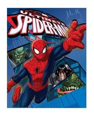 Spiderman fleece deken - plaid webslinger