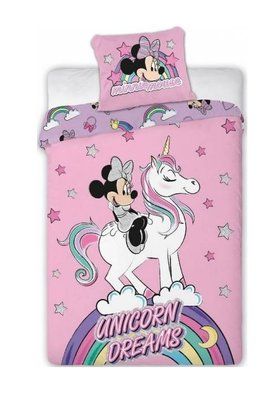 Minnie Mouse dekbedovertrek 140x200cm Unicorn