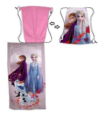 Disney Frozen 2 badlaken - strandlaken met draagtas