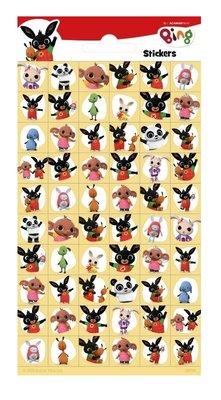 Bing het konijn stickervel met 60 mini stickers