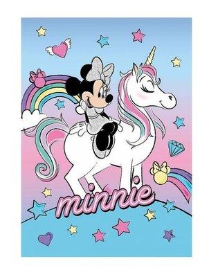 Minnie Mouse fleece deken Unicorn
