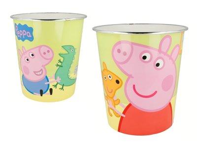 Peppa Pig kunststof prullenbak