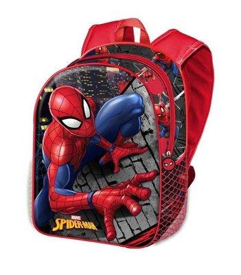 Spiderman rugzak met 3D voorkant Climber
