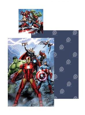 The Avengers dekbedovertrek Team 140x200cm katoen
