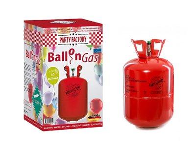 Helium tank met 100% helium goed voor 50 ballonnen