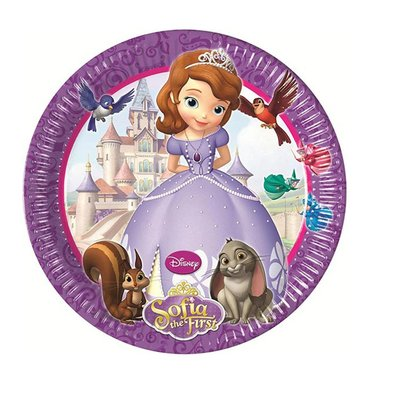 Sofia het Prinsesje gebaksbordjes