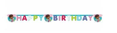 De Speelgoed dokter happy birthday slinger
