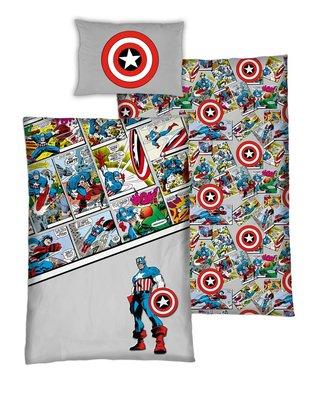 The Avengers dekbedovertrek Comics 140x200cm katoen